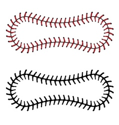 Baseball lace background3 vector