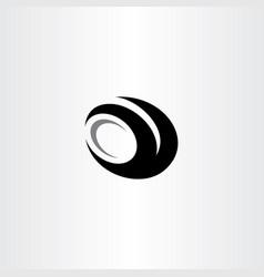 car tire logo black icon clip art vector image