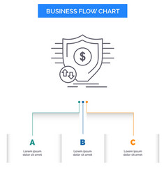 finance financial money secure security business vector image