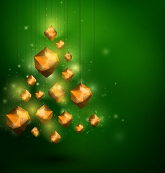 Merry Christmass and Happy New Year abstract vector