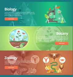Science of biology natural science vegetable vector
