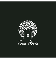 Tree House logo vector image