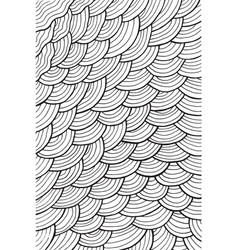 Wavy pattern background - coloring page for adults vector