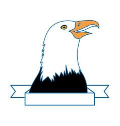 american hawk symbol vector image