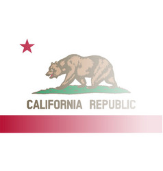 California state flag fade background vector
