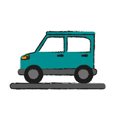 Car draw vector