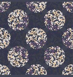 Dotty moody polka dot seamless pattern modern vector