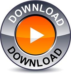 Download round button vector