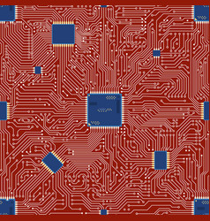 Eps motherboard abstract seamless background vector