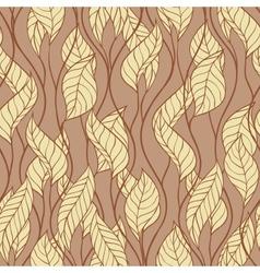 Pattern autumn macro swirl leaves background vector