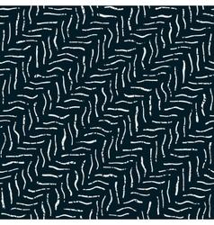 Seamless Dark Hand Drawn Distorted Lines vector
