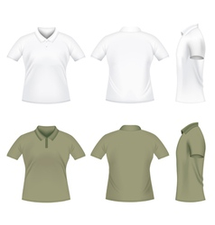 men polo tshirts vector image