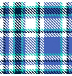 seamless abstract checkered vector pattern vector image vector image