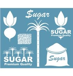 Sugar Icon vector image