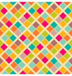 Retro colorful seamless pattern vector image vector image