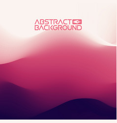 3d landscape background purple gradient abstract vector image vector image