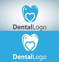 dental logo 11 vector image