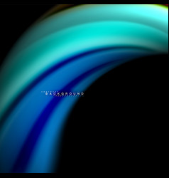 Fluid mixing colors wave abstract vector