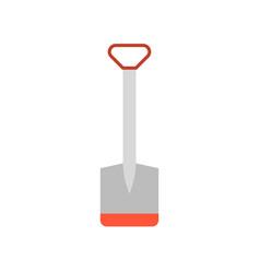 Hoe flat icon farm tool vector