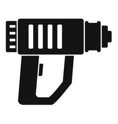 Impact drill icon simple style vector