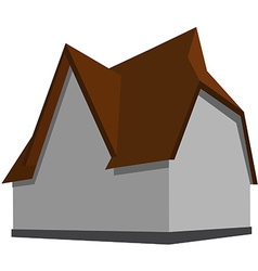 Modern house vector image
