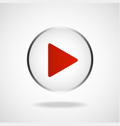 play icon multimedia player multimedia play vector image