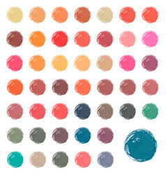 watercolor stains blobs splashes vector image