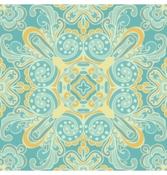 Cute Blue Seamless abstract tiled pattern vector image vector image