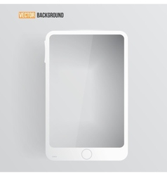 mobile icon and glossy vector image vector image