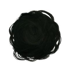 Black Yarn Ball Background vector image vector image