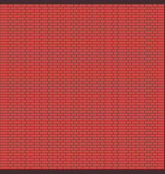 brick wall background - vector image