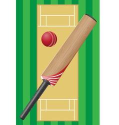 cricket 01 vector image vector image