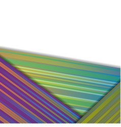 colorful lines abstract corporate background vector image