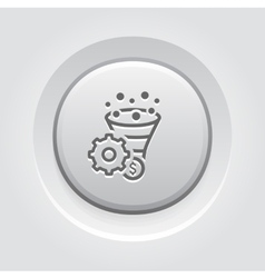 Conversion Rate Optimisation Icon vector image