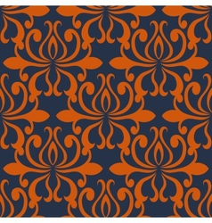 large busy bold arabesque seamless pattern vector image