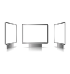 Display Panels vector image vector image