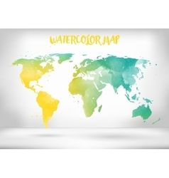 Abstract creative concept map of the world vector