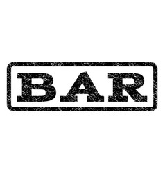 bar watermark stamp vector image