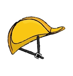 Construction helmet hardhat vector