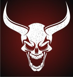 Demons Head vector image