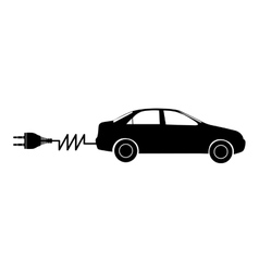 Electric car icon image vector