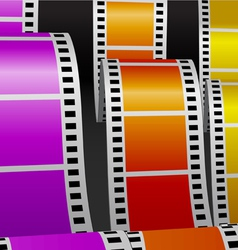 Film stripes vector