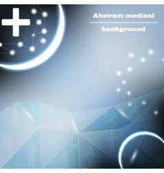 medical bacground vector image