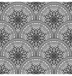 Oriental seamless ornament vector