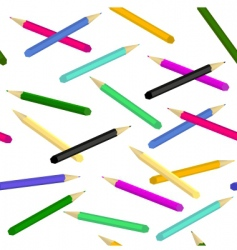 pencils seamless vector image