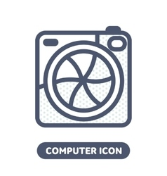 Photo icon in social networks vector