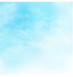 Picture of clouds on the blue sky background vector
