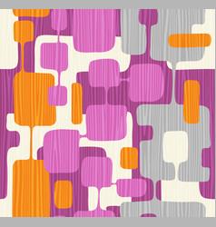 Seamless abstract mid century modern pattern vector