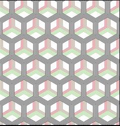 Seamless geometric pattern classic chinese vector