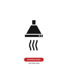 Stove icon vector